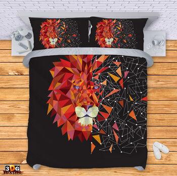 Спално бельо Геометричен Лъв