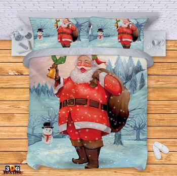 Спално бельо Дядо Коледа 2020