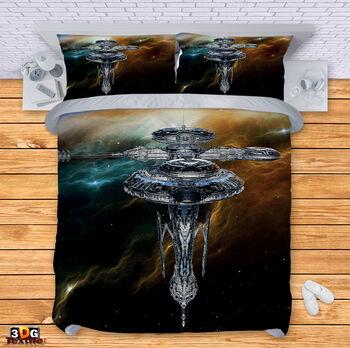 Спално бельо Космическа станция 2