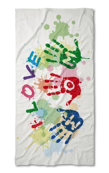 Хавлиена кърпа Обичам Мама