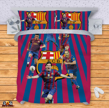 Спално бельо Барселона с Играчите