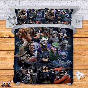Спално бельо Батман 2