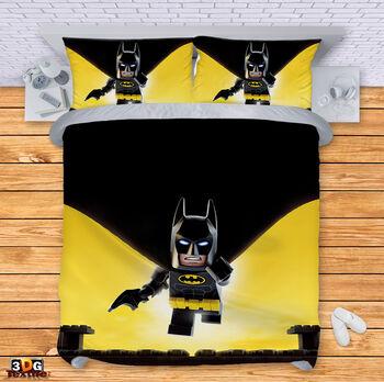Спално бельо Лего Батман