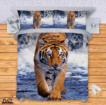 Спално бельо Тигър