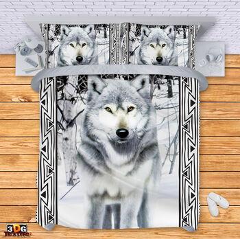 Спално бельо Вълк