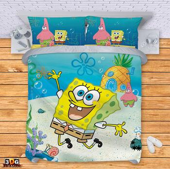 Спално бельо Спондж Боб