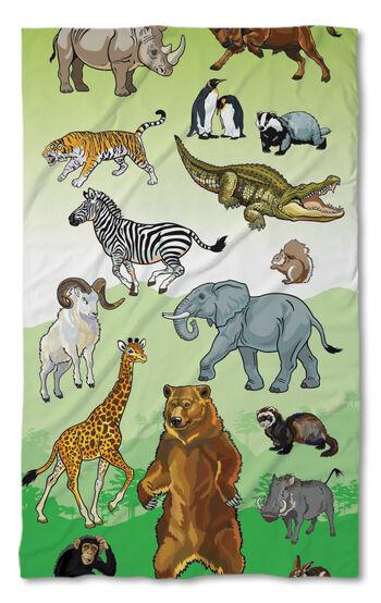 Хавлиена кърпа Животни