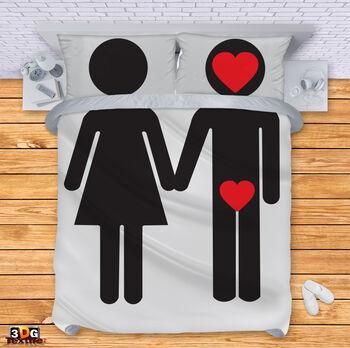 Спално бельо Двойка влюбени
