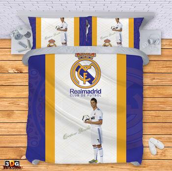 Спално бельо Реал Мадрид с Роналдо