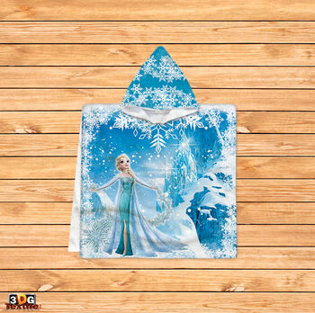 Пончо Замръзналото кралство Елза
