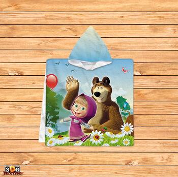Пончо Маша и мечок