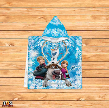 Пончо Замръзналото кралство синьо
