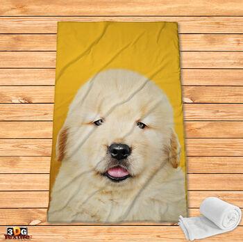 Поларено одеяло Принт Кученце
