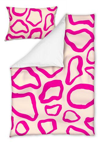 Спален комлект Single 140x200 Розов Леопард