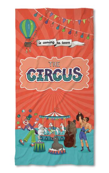 Хавлиена кърпа Цирк