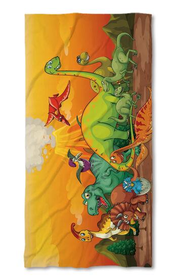 Хавлиена кърпа Динозаври