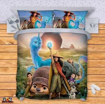 Спално бельо Рая и последният дракон