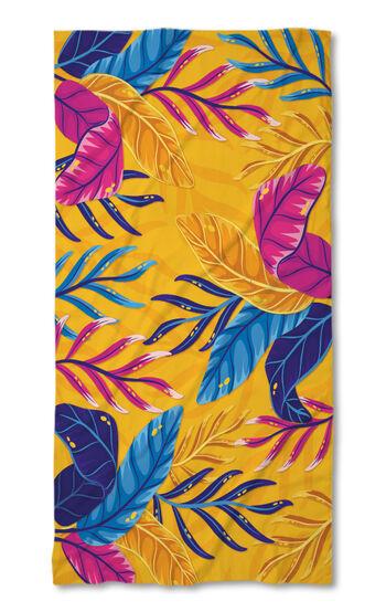 Хавлиена кърпа 3D Цветя