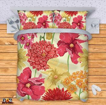 Спално бельо Цветя 2