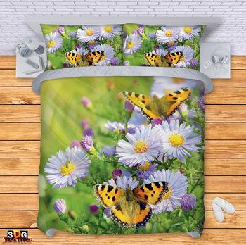 Спално бельо Маргаритки с Пеперуди
