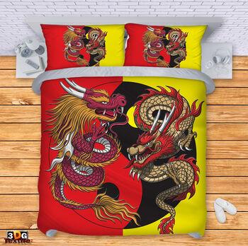 Спално бельо Дракони