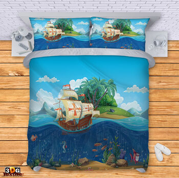 Спално бельо Подводен свят