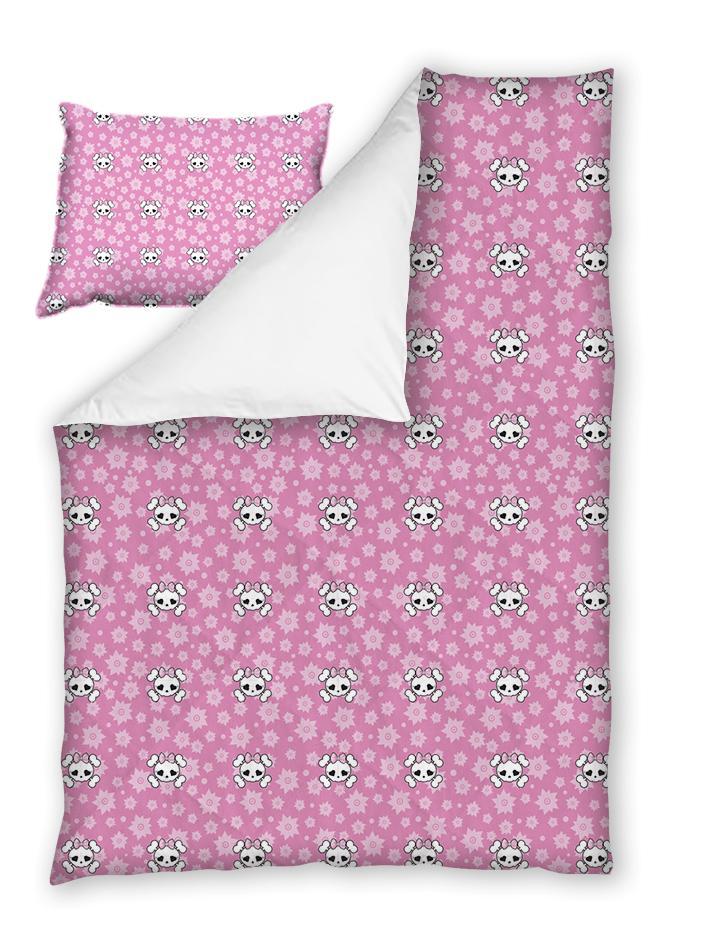 Бебешки спален комплект Рок в Розово 100% памук