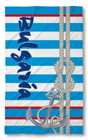 Хавлиени кърпи Кърпа Бг Синя