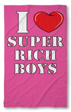 Хавлиени кърпи  I love Rich boys