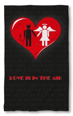 Хавлиена кърпа Love is in the air