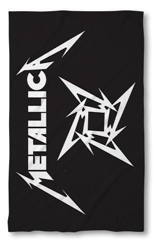 Хавлиена кърпа Металика черна