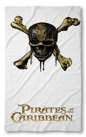 Хавлиена кърпа Карибски Пирати 2