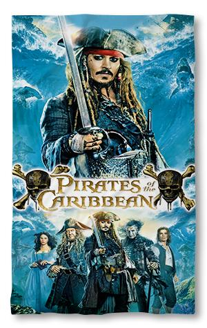 Хавлиена кърпа Карибски Пирати