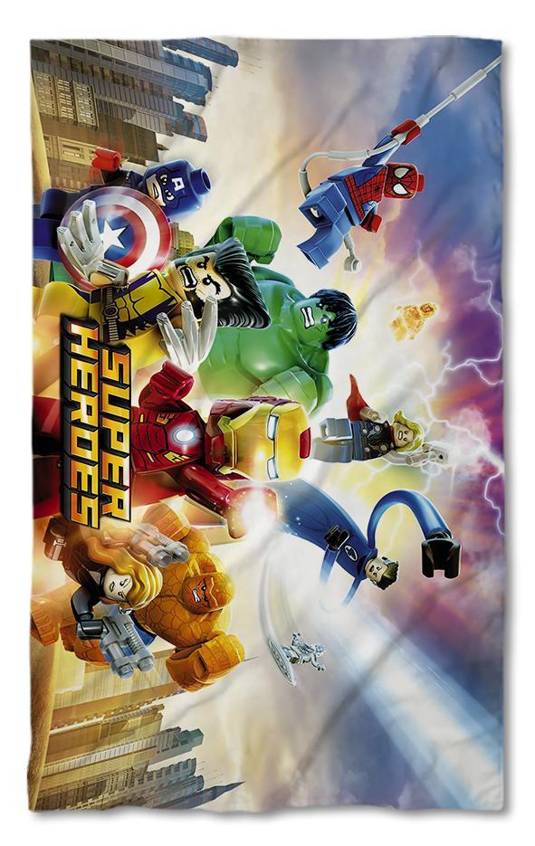 Хавлиена кърпа Лего Супер Герои