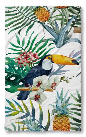 Хавлиена кърпа Папагал