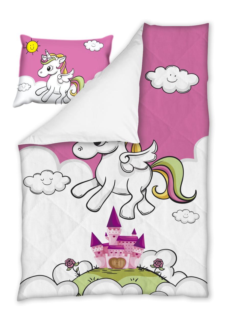 Бебешки спален комплект Еднорог 100% памук