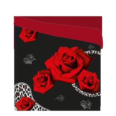 Направи-си-спално-бельо-шалте-рози-червен